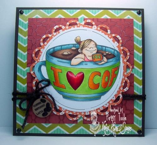 Coffee card kit